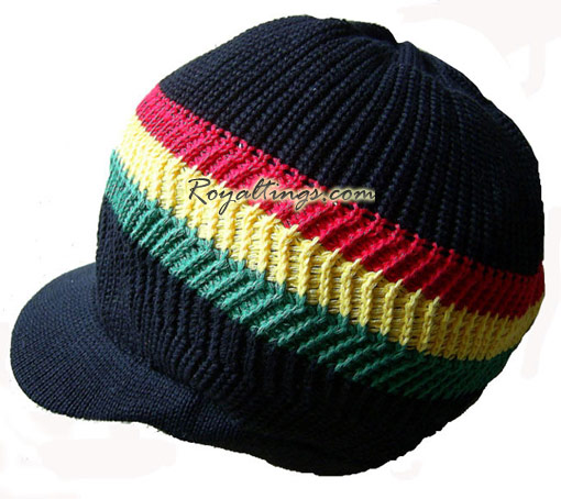 rasta dreadlocks cap