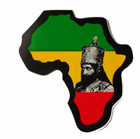 stickers Africa Selassie