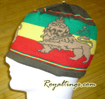 Dreadlocks beanies lion M