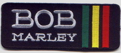 Patch rasta BOB MARLEY