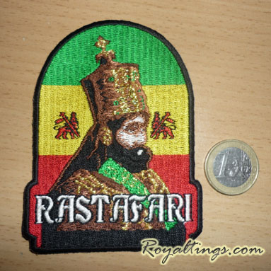 Patch rasta Coronation