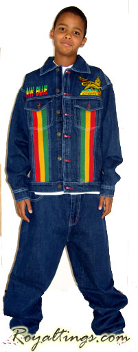 Youth Jean Suit