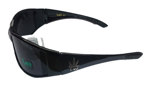 weed leaf sunglasses
