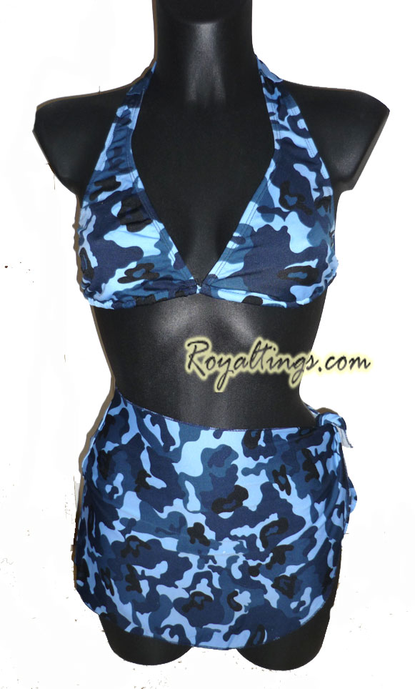 Camo Bathing Suit Army 2