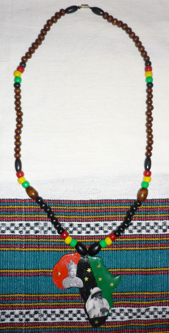 Necklace Africa Alpha Omega