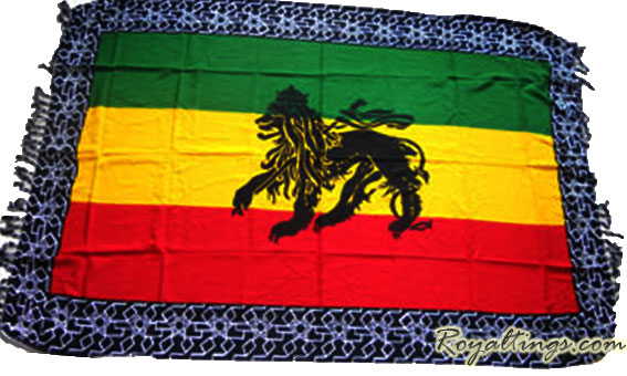 Pareo Tenture Rasta Lion Of Judah