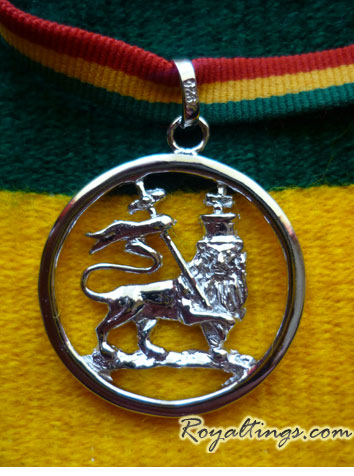 Lion of Judah Anhänger silver