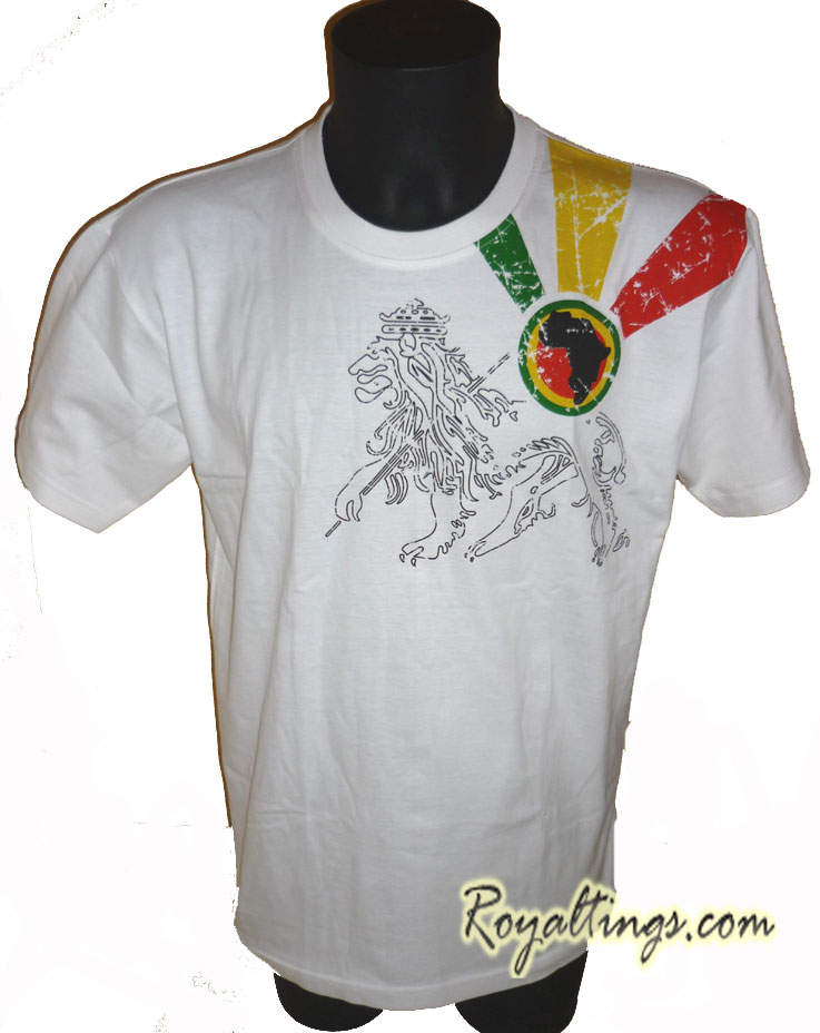 Tee shirt Rasta Lion 4