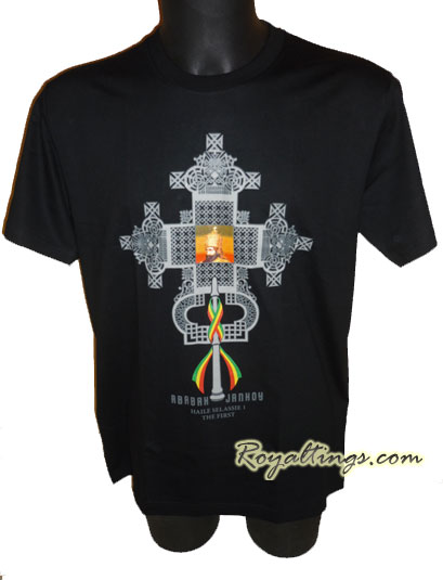 Tee shirt Rasta HIM Cross