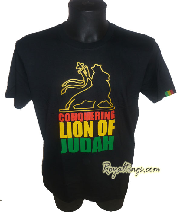 Tee shirt Rasta Lion 7