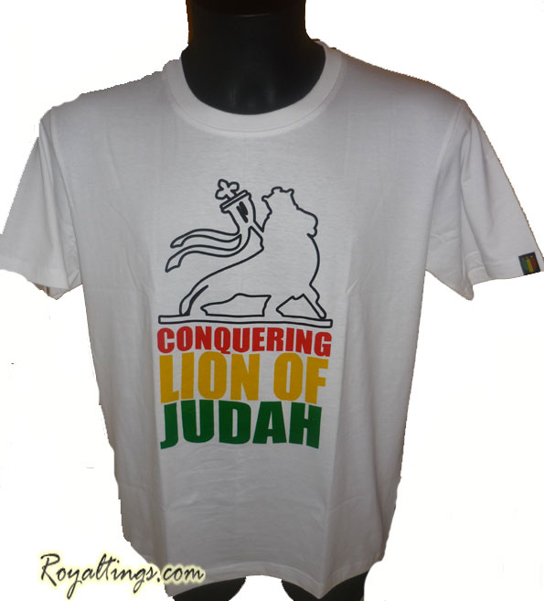 Tee shirt Rasta Lion 10