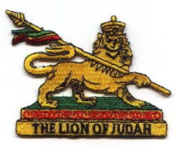 Patch ecusson rasta Lion of judah 3