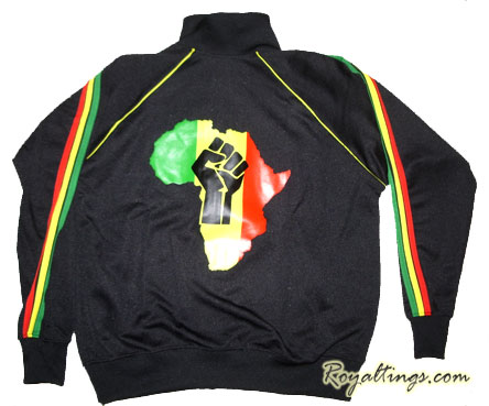 Veste Rasta Africa Power
