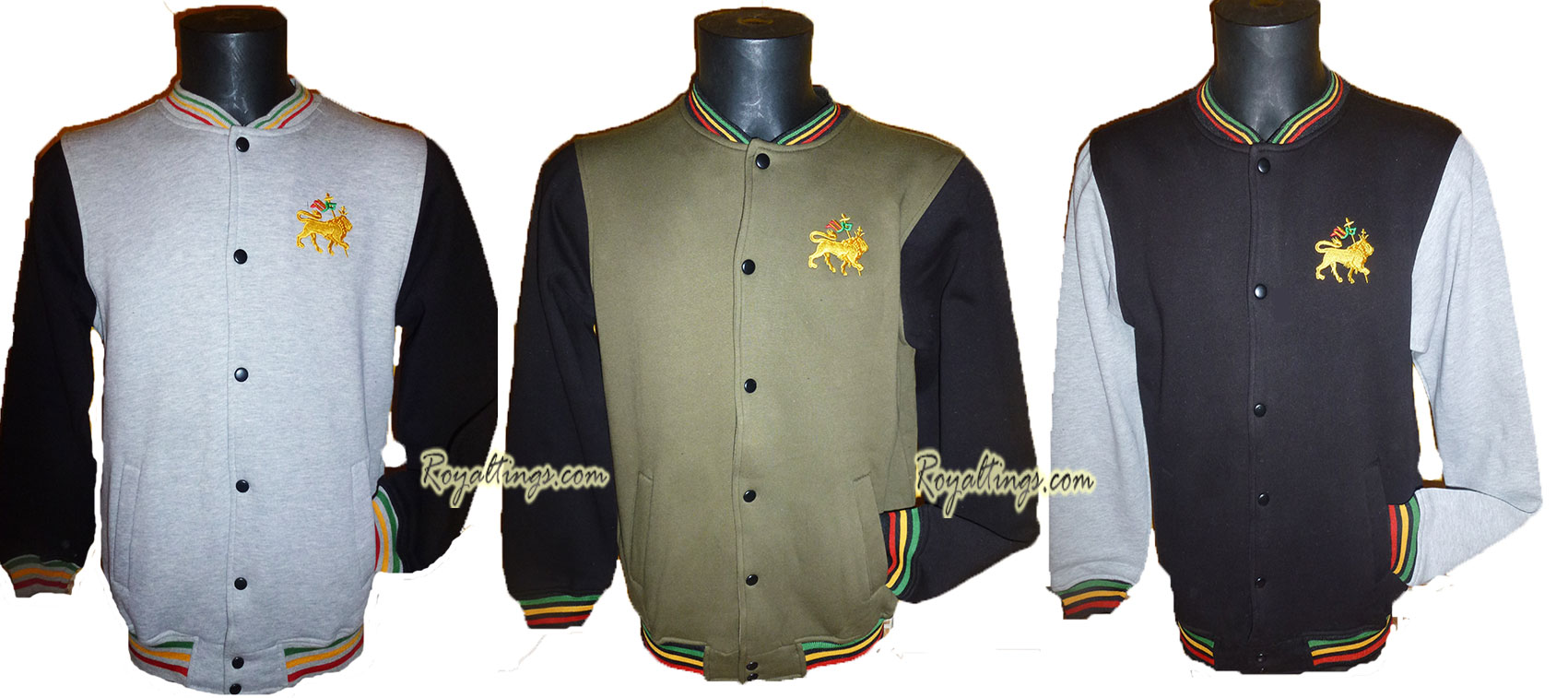 Veste rasta Teddy Lion 4