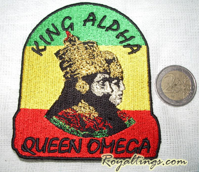 Patch rasta Alpha Omega