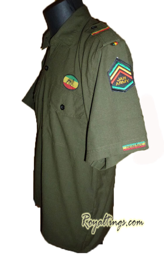 Jah Army Shirt