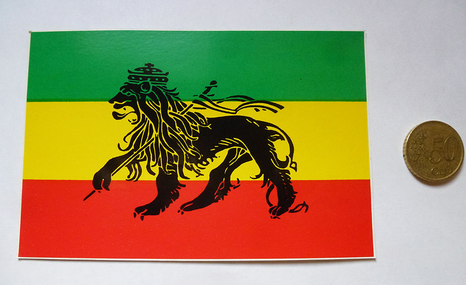 Stickers Lion of Judah 2