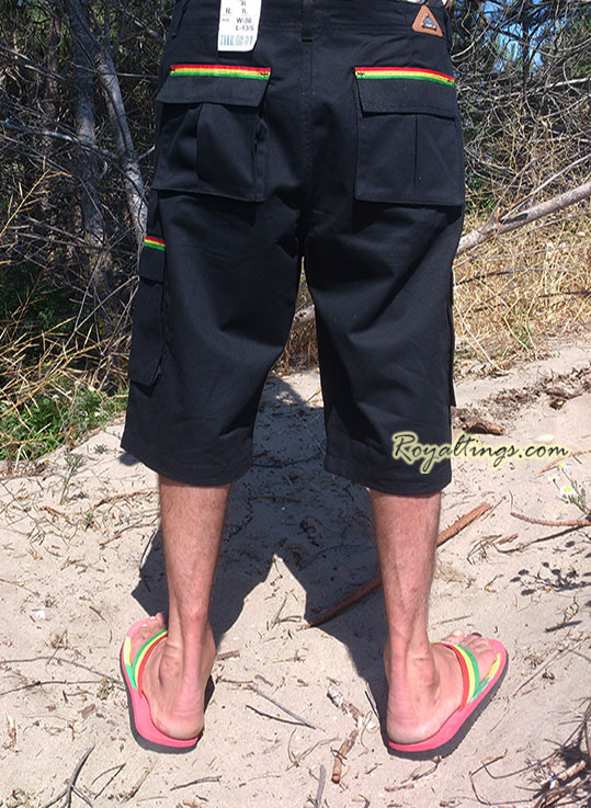 Baggy Short Rasta Army