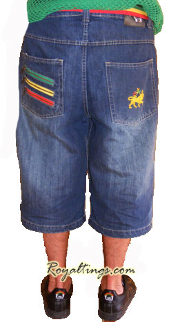 Baggy Short Lion of Judah 3