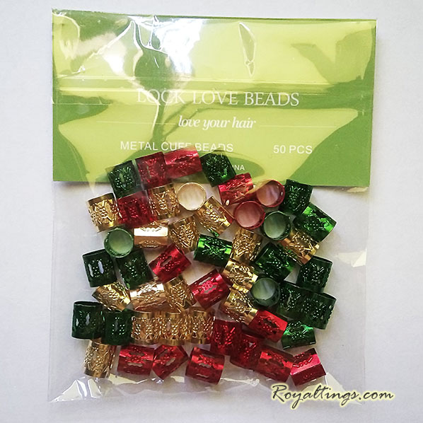 50 hair dreadlocks beads 2