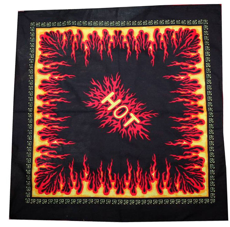 Bandana Hot Fire Flammes