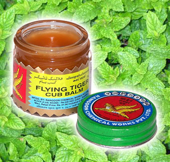 Flying Tiger balm red