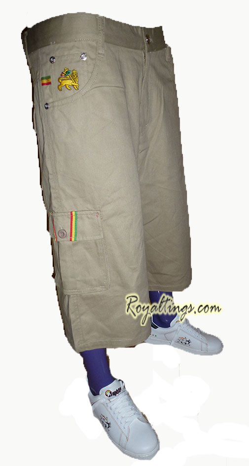 Baggy short Rasta pantalones Lion 4