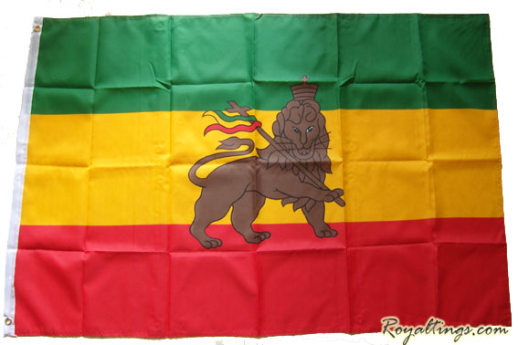 Drapeau Lion of Judah KING SIZE