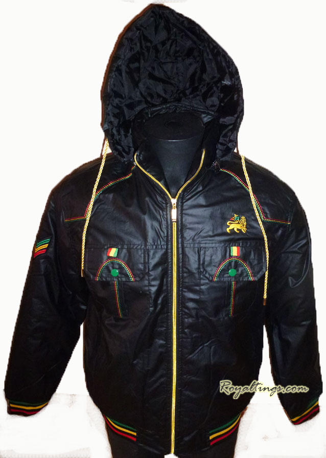 Blouson Parka Rasta Lion of judah 2