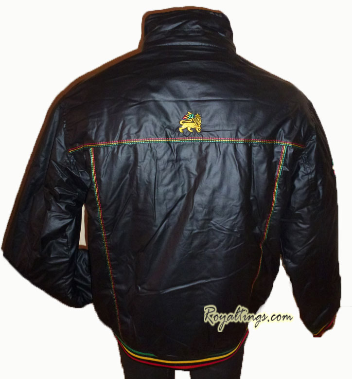 Jacket rasta lion of judah 2