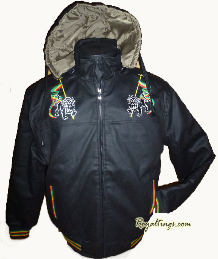 Jacket rasta lion of judah 4