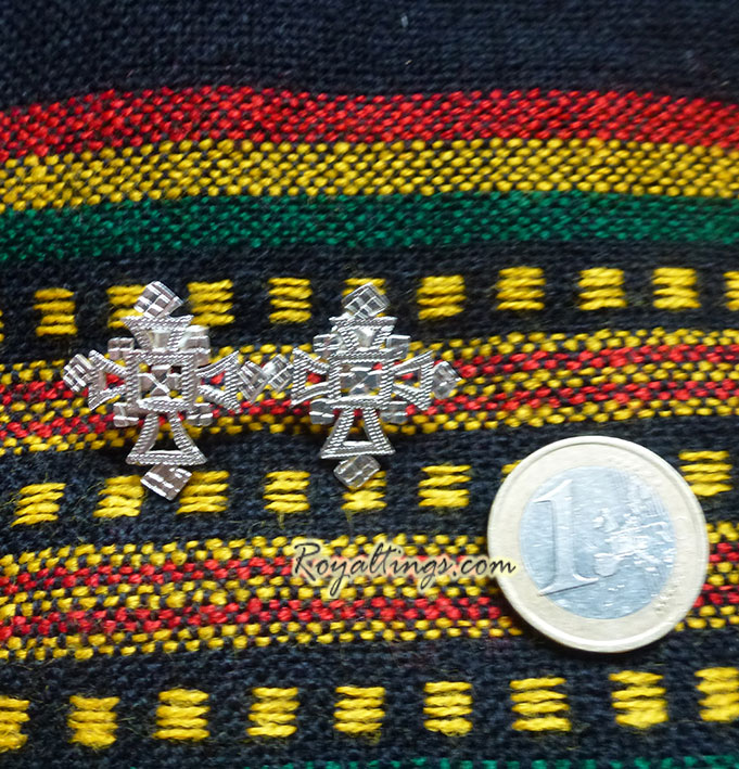 ethiopian earing pure silver