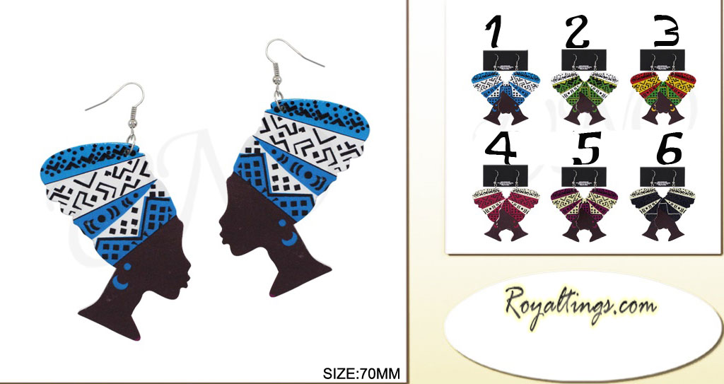 Rasta Queen earings