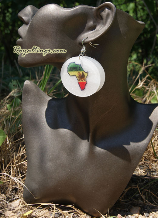 Lion Africa Earing