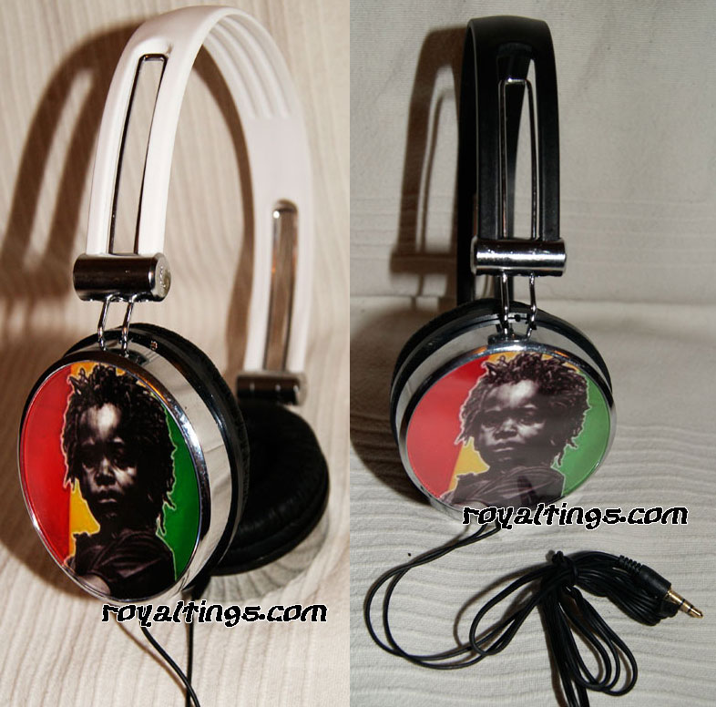 headphone rasta