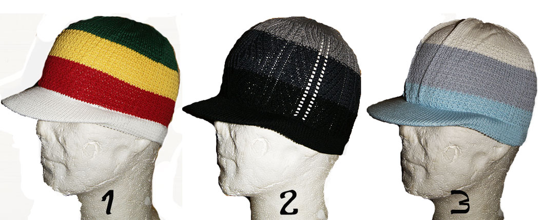 rasta cap small