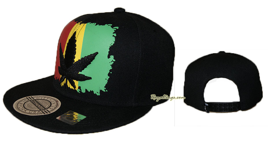 Casquette Baseball Snapback Weed