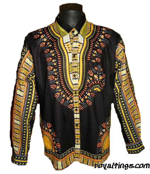 Chemise Africa Vibes