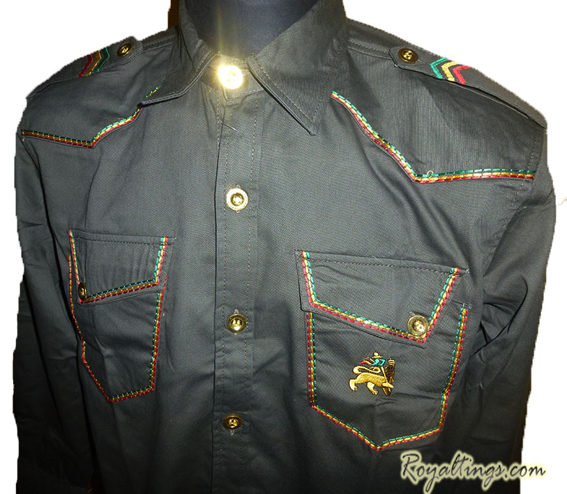 Chemise Rasta Lion of judah 5