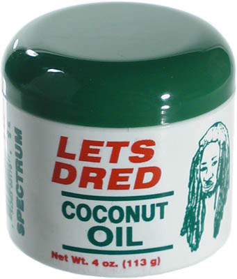 Huile de coco Coconut Oil Soin Locks Let's Dread