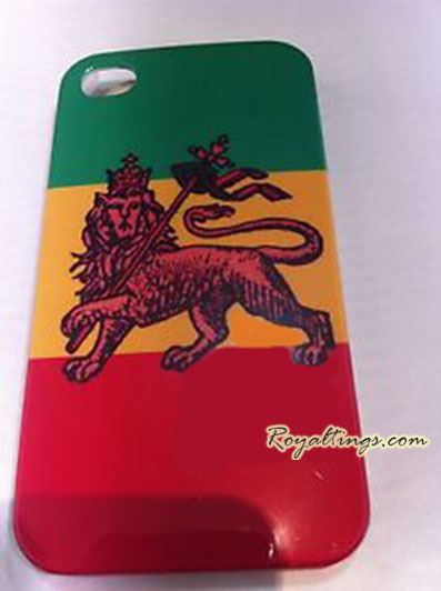 Coque rasta Lion of judah Iphone 4