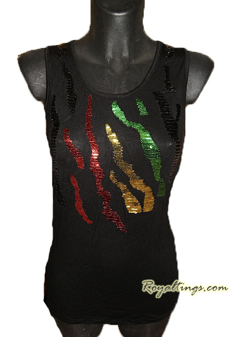 Rasta Top strass