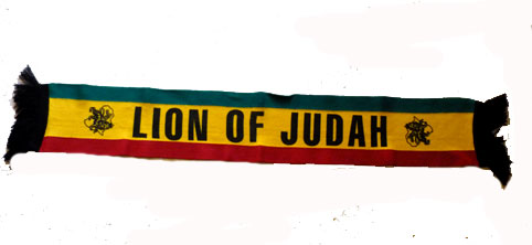 Lion of Judah Scarf