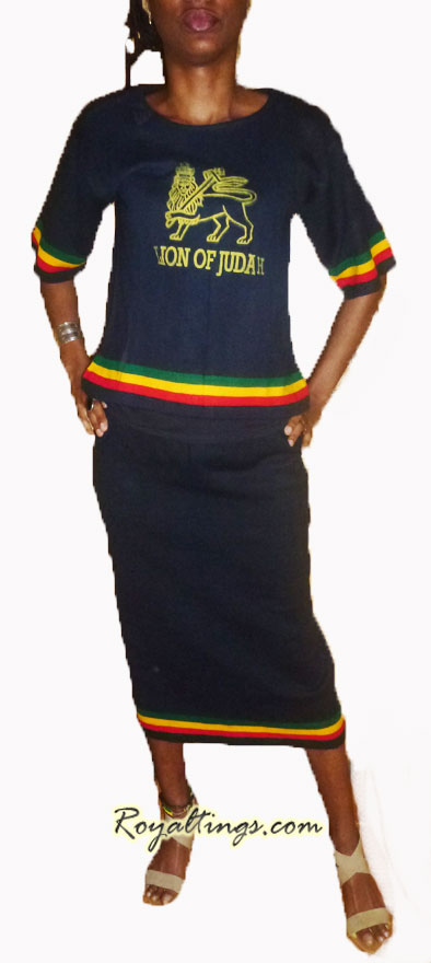 Ethiopian dress Lion of judah