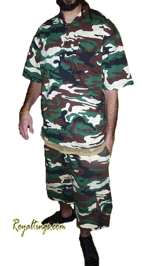 Ensemble Camouflage Army militaire