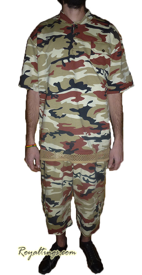 Army short suit