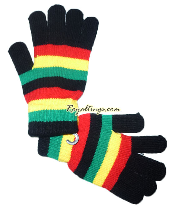 Gloves rasta
