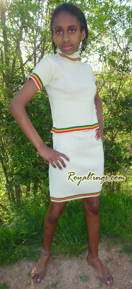 ethiopian girl suit 10/12y old