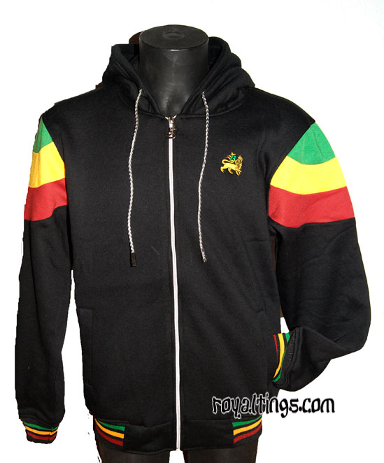 Veste rasta épaisse Lion of Judah 1