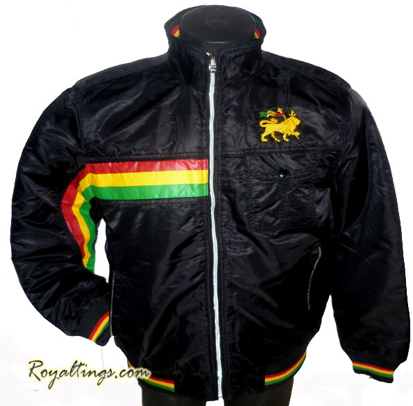 Jacket rasta lion of judah 3